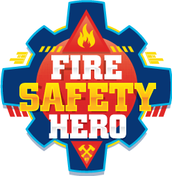 Fire Safety Hero Badge