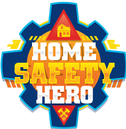 Home Safety Hero Badge